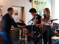 Saxophonsatz Soundcheck